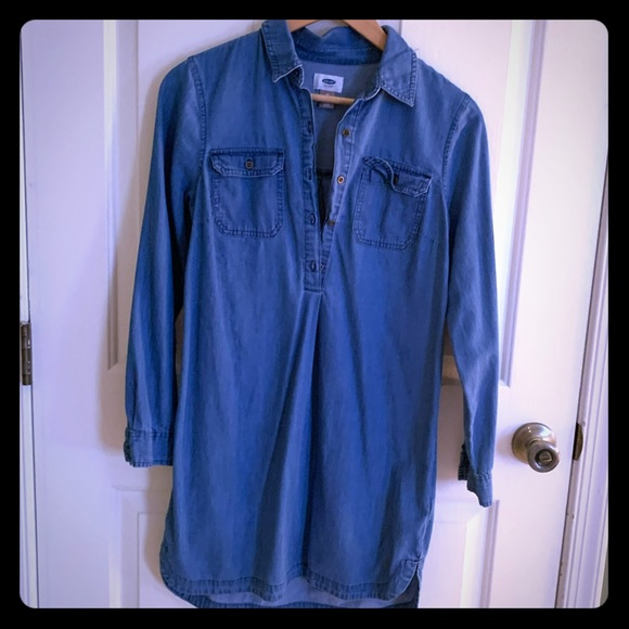 Old Navy Dresses & Skirts - Denim shirt dress